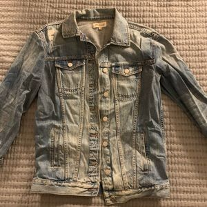 Madewell Original Oversized Denim Jacket